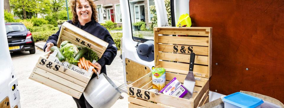 Waarom Katja Schuurman straks in een Abcoudse foodtruck eet